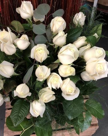 Bouquet rose blanche 003